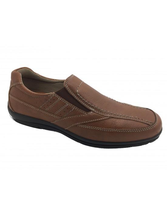 Imac Nelson Tan Leather Leisure Trainer Walking Trekking Shoes Size 11 UK