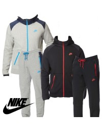 New Nike Mens Hybrid Tracksuit Jogging Trousers Training Top Jacket 2017