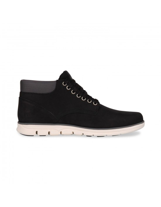 Mens Timberland Bradstreet Chukka Black Suede Leather Boots