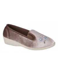 ladies-full-slippers-dunlop-gina-ii-textile