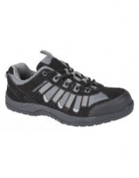 Grafters M9511A Unisex Low Cut Padded Slip Resistant Safety Trainers