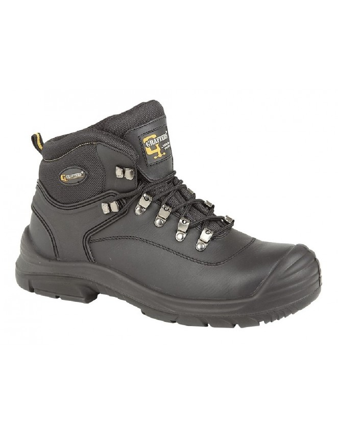 cc365bb0185 Grafters M9508 Super Wide Fitting Safety Toe Cap Steel Midsole Boots