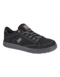Grafters 'Skater 9512' Unisex Safety Skate Canvas Type Trainer Shoes