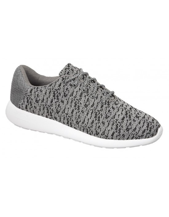Dek SUPERLIGHT T876 Adults Kids Unisex Orbit Lace Grey Comfort Trainers