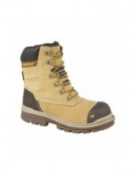 """Mens Caterpillar CT025 Premier 8"""" Waterproof S3 Composite Safety Leather Work Boots"""