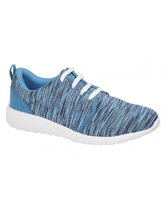 Ladies DEK SUPERLIGHT Roshe Design Lace Up Trainers