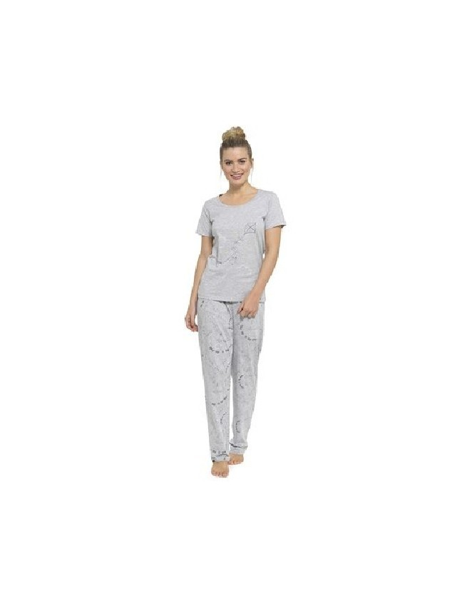 1502869b5f Womens Pyjamas PJ Set Long Sleeve Top Nightwear LoungeWear Pajamas