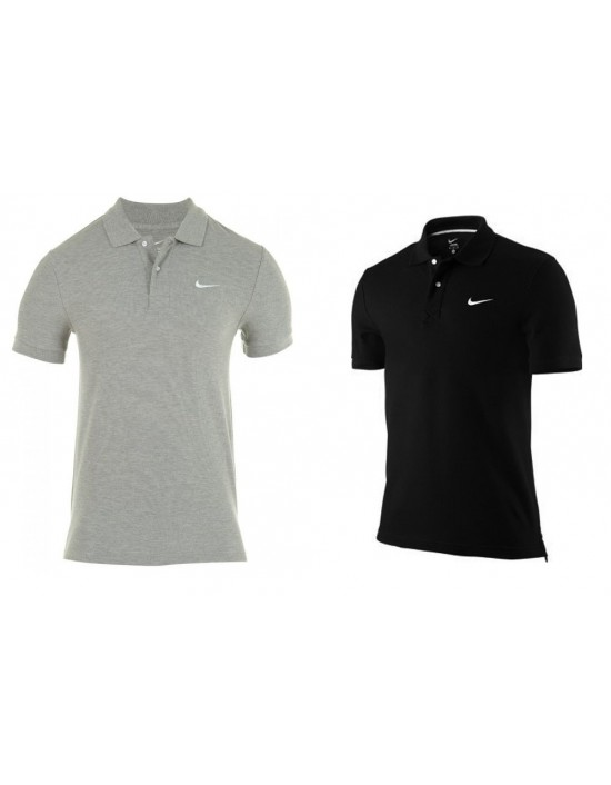Mens Nike Slim Fit Polo Tshirt Shirt Pique Short Sleeve S M L XL