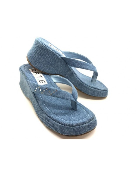 Girls Kids Brand New Open Toe Wedge Slip On Party Summer Shoes Sandales
