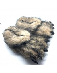 NEW Men's & Women's Novelty Monster Claw Animal Slippers All Sizes