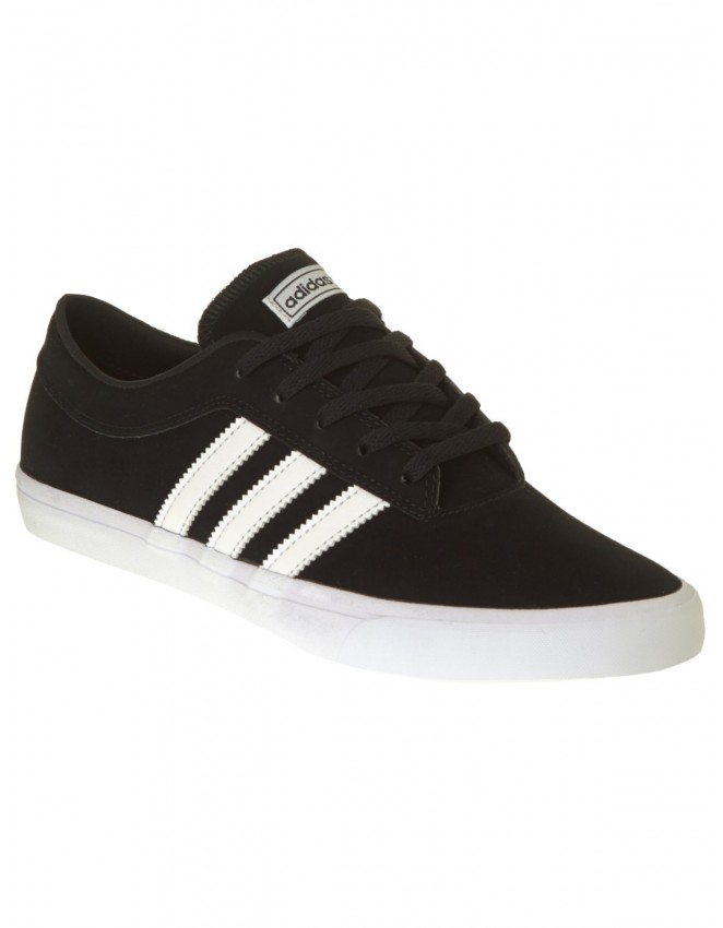 competitive price ede2f 6c6ca Adidas Sellwood Shoe Mens Black Skateboarding Trainers Sneak