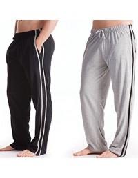 Tom Franks Men's Pack of 2 Jersey Pyjama Lounge Pants Trouser Bottoms Sleepwear