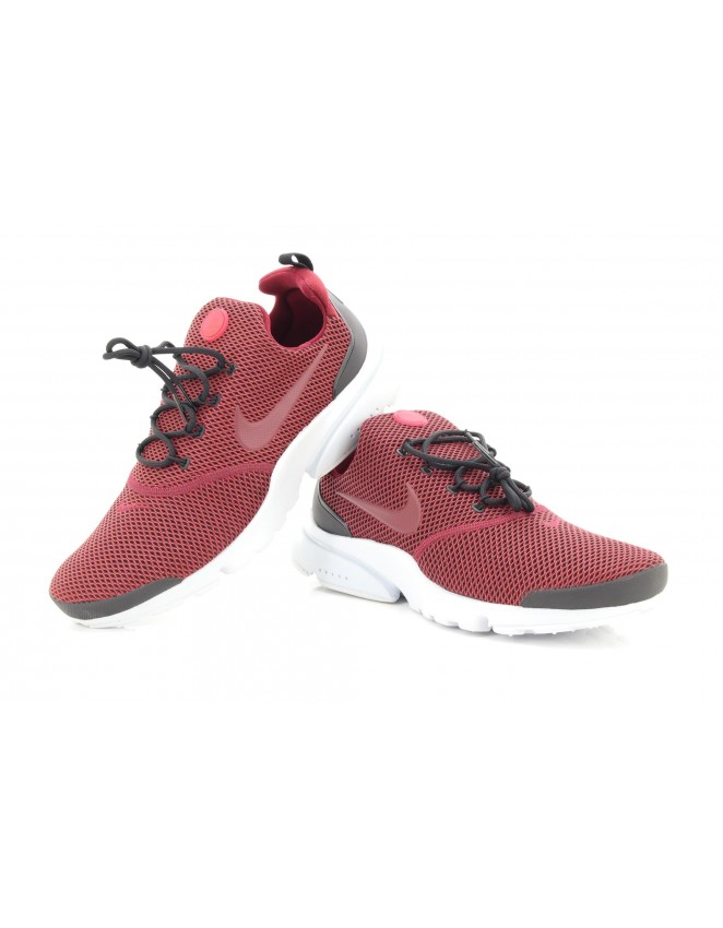 bf694d9b7f9a Nike Presto Fly SE Black Red Trainers 908020 003 Gym Running Comfort