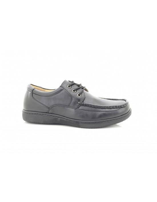 Dr Keller Albert Lace UP Extra Comfort Walking Shoes Gel Silicone Heel Pad