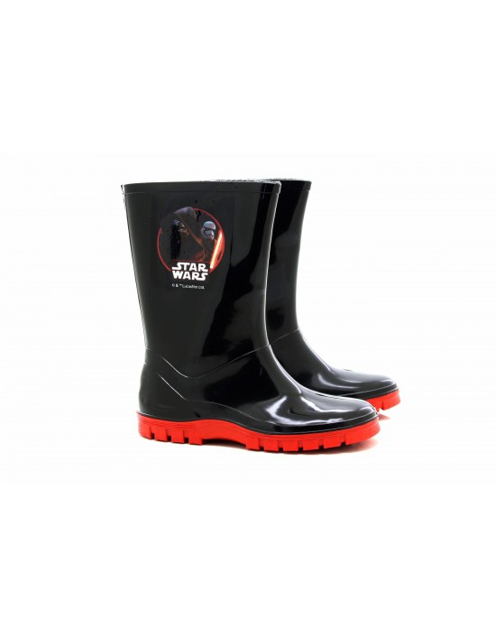 Boys Official Star Wars Wellies Rain Snow Boots