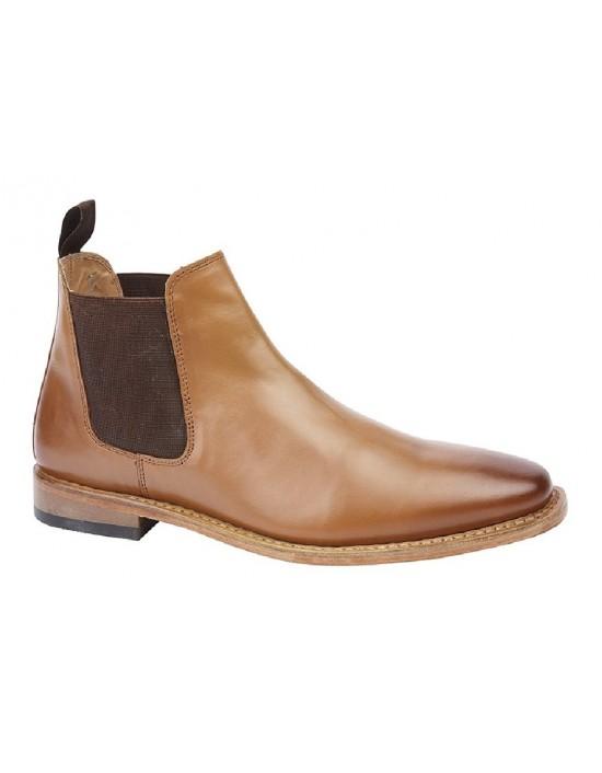 Kensington M833 Exclusive Mens Leather Chelsea Boots