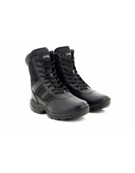 MAGNUM PANTHER 8.0 Black Unisex Side Zip Uniform Boots