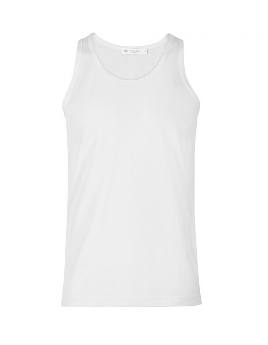 Mens Cotton Tank Vest Everyday Top Quality White
