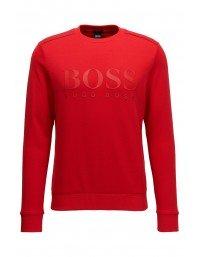 Mens Hugo Boss Green Salbo Sweatshirt Red NEW SS19 Size XL XXL