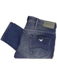 Mens Armani Jeans 6Y6J06 Denim Indaco Smart Slim Fit Jeans 6DGLZ