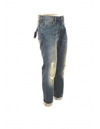 Armani Jeans 6Y6J06 6DGCZ Slim Fit Jeans Men 32L - Denim Indaco Blue