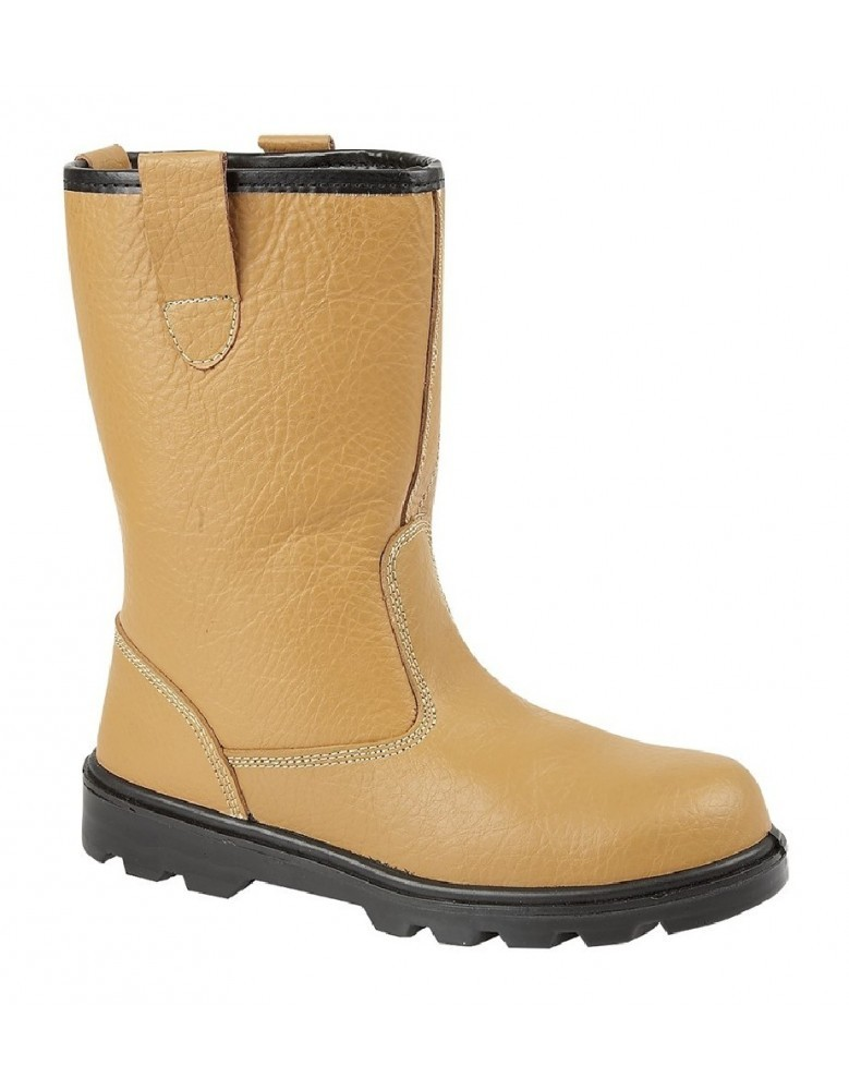 84599bda385 Grafters M021 Mens Leather Industrial Safety Rigger Boots