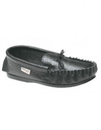 Mokkers MS081 British Gordon Leather Moccasin Slippers