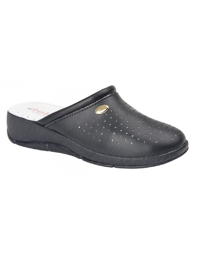 Boulevard L549 Black Twin Gusset Casual Slip On Aerobic Walking Shoes Size 4 6