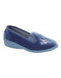 Ladies Sleepers Gina II Soft Velour Full Gusset Slippers