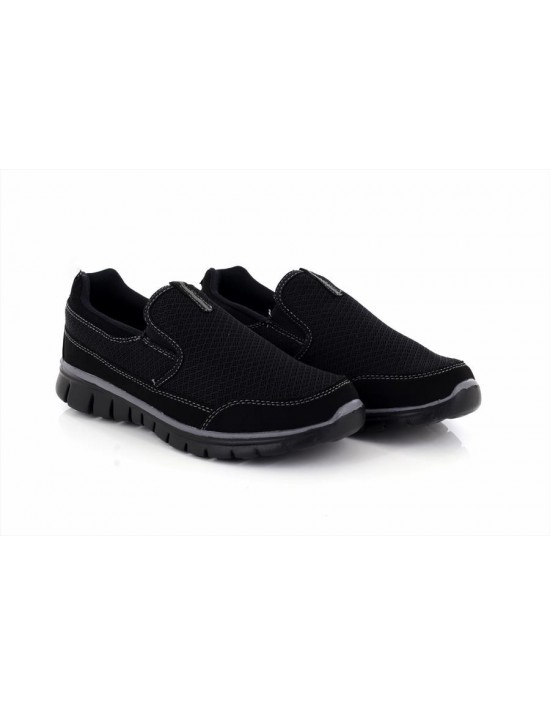 Unisex Dek Sketch SUPERLIGHT Slip On Memory Foam Comfort Trainers
