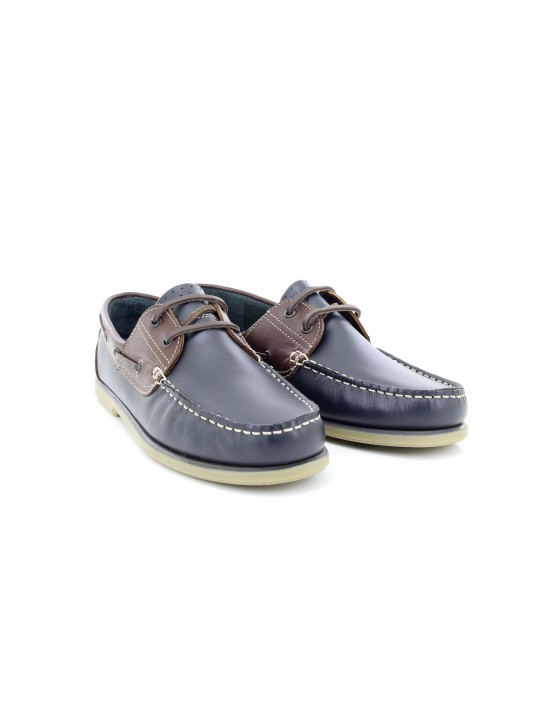 Mens Dek Smart Leather Moccasin Boat Shoes