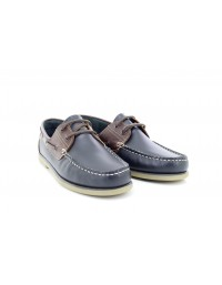 Mens Dek M551 Smart Leather Moccasin Boat Shoes