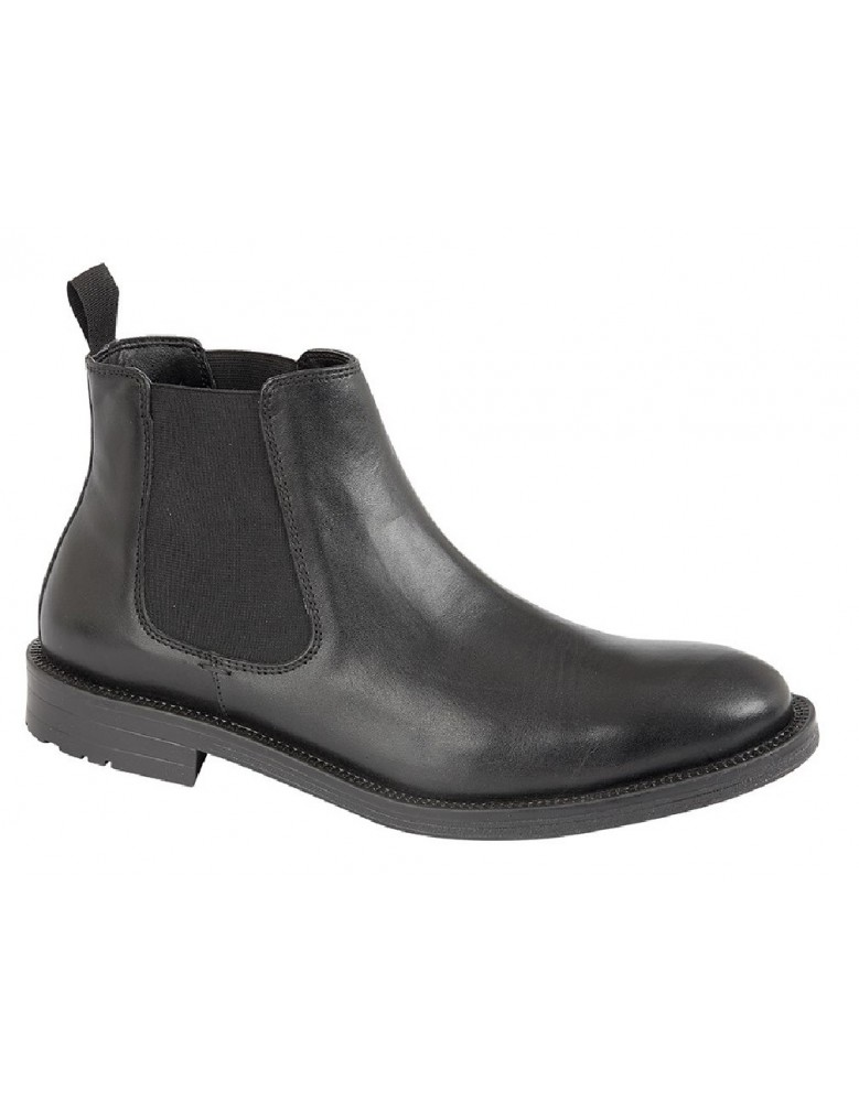 47be5031f19 Roamers Roger M9525 Leather Twin Gusset Dealer Chelsea Ankle Boots