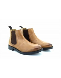 Roamers Roger M9525 Leather Twin Gusset Dealer Chelsea Ankle Boots