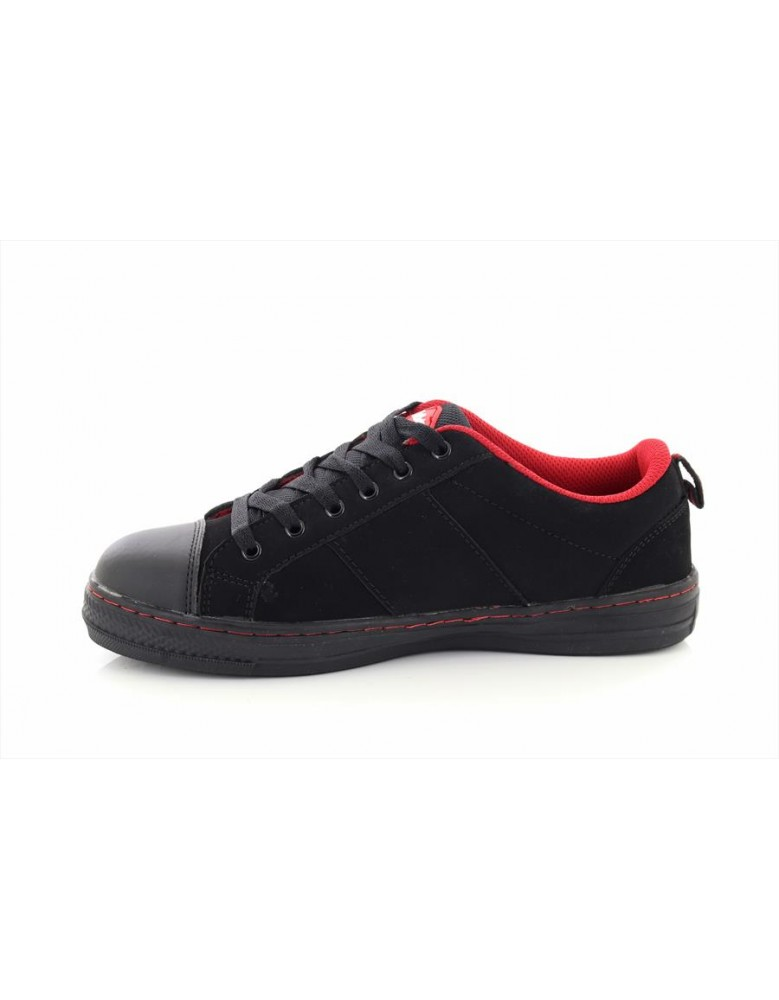 Lee Cooper LC054 Canvas Trainer Leather