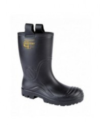 Grafters M928A Mens Full Safety Waterproof Rigger Wellington Boots